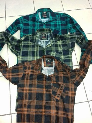 Mens Double Check Shirt