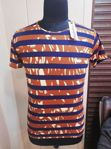 Designer Mens Round Neck T Shirt