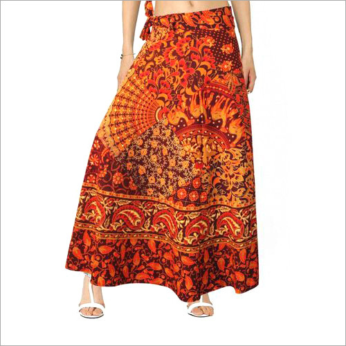 Ladies Rajasthani Wrap Skirt