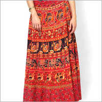 Ladies Wraparound Skirt