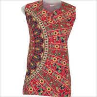 Ladies Designer Jaipuri Printed Kurti