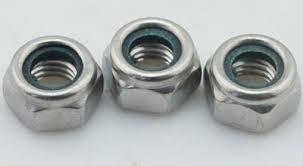 Industrial Hex Nuts.