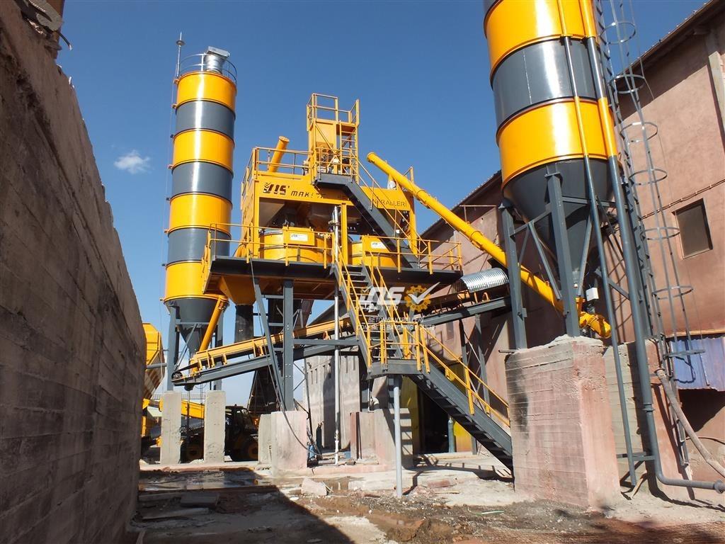 Stationary Concrete Batching Plant