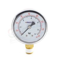0-160 PSI Pressure Gauge