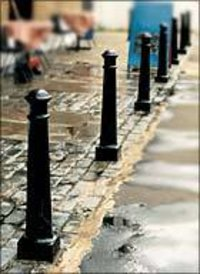 Cast Iron Round Bollards