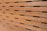 Wooden Perforated Panels