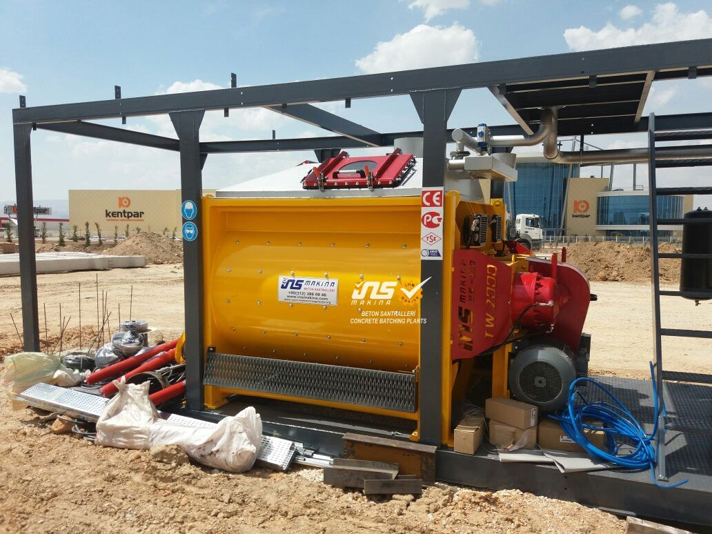 Single Shaft, Twin Shaft, Pan And Planetary Mixer for Concrete Batching Plant