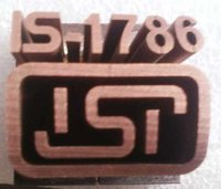 TMT, Angle, Channel, Branding Logo's Copper Electrodes