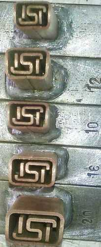 Copper Electrode (ISI Logo for TMT Roll Branding)