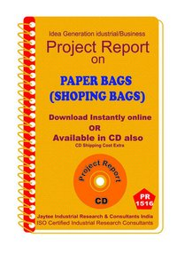 Paper Bags (Shoping Bags) manufacturing eBook