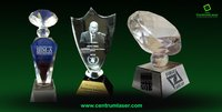 3D Crystal Awards Trophies