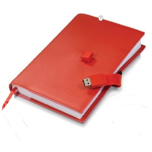 Diary With Usb Pendrives