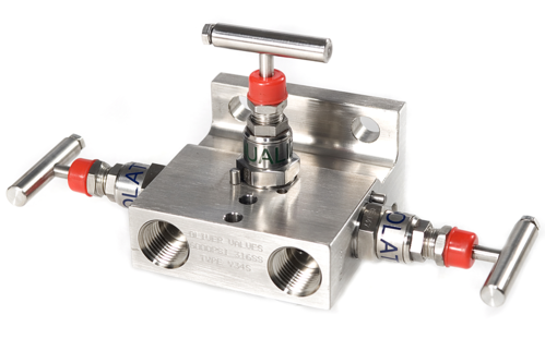 3 Way Manifold Valves