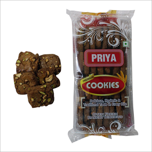 Chocolate Kaju Pista Cookies