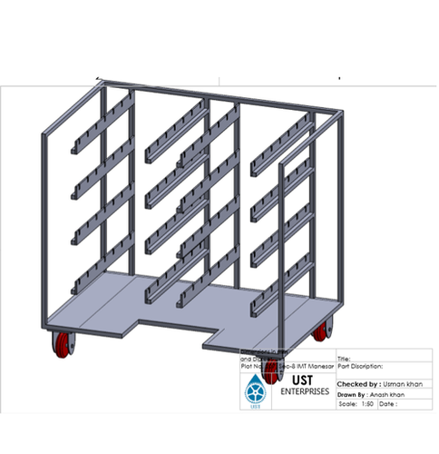 part hanging trolley