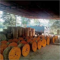 CATV WOODEN CABLE DRUM