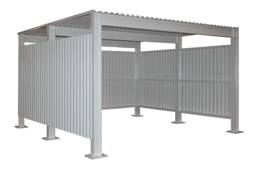 Heavy-duty metal Shed