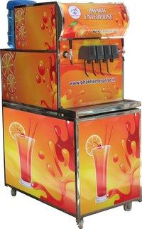 Fully Automatic 4+2 Soda Fountain Machine