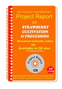 Strawberry Cultivation and Processing Project Report eBook