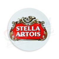 Stella Artois Round Fish Eye Medallions