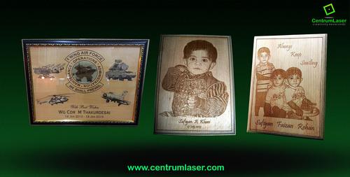 Wooden Laser Engraving Services