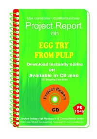Egg Try From Pulp manufacturing Project Report eBook