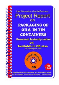 Packaging of Oils in Tin Containers manufacturing eBook
