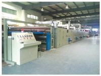 Tufted Carpet Gumming  Drying Production Line