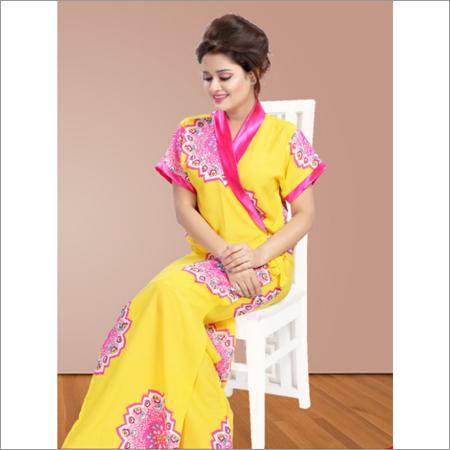 Yellow Housecoat