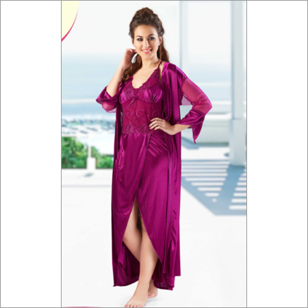 Ladies Nighty 2 Pc Set