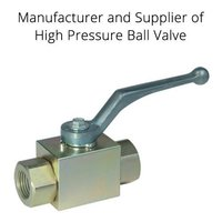 High Presuure Neddle Valve