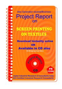 Screen Printing on Textiles II manufacturing eBook