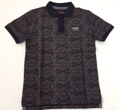Men's Collared Casual T-Shirt