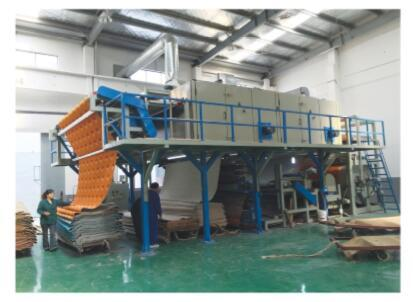 Axminster Carpet Gumming & Drying Production Line
