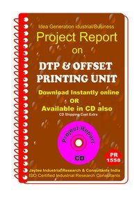 DTP and Offset Printing Unit Project Report eBook