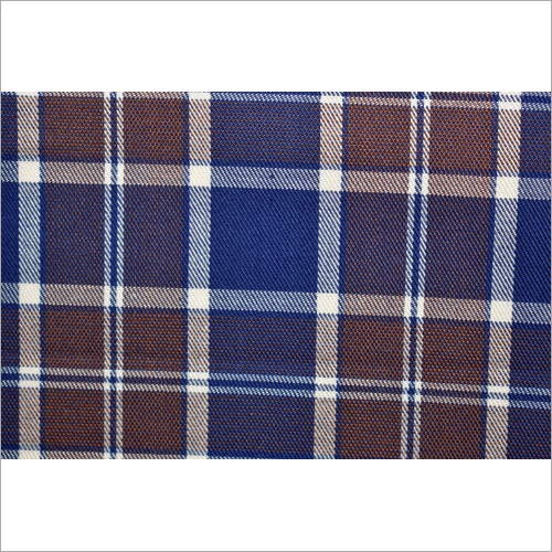 Check Twill Weave Fabric