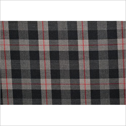 Yarn Dyed Check Twill Fabric