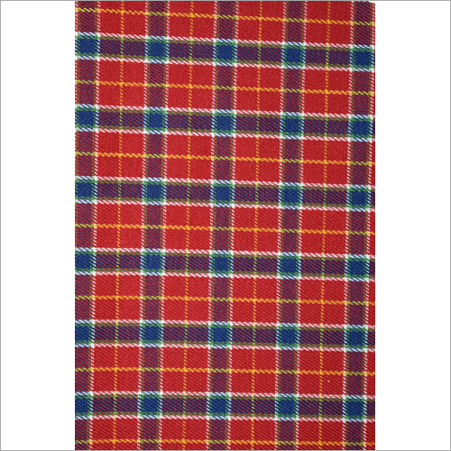 Yarn Dyed Check Shirting Fabric