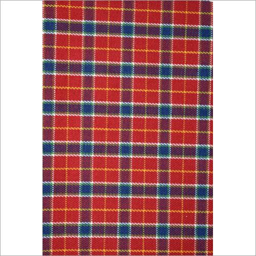 Yarn Dyed Check Shirting Fabric