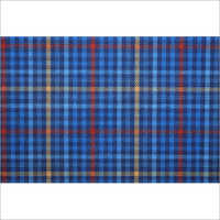 Yarn Dyed Check Twill Weave Fabric