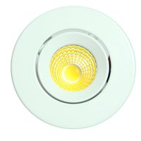 3W Round COB Light