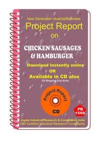 Chicken Sausages and Hamburger manufacturing eBook