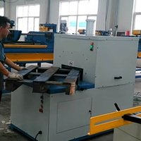 Single Head Cutting Machine for Wooden Pallets Conner