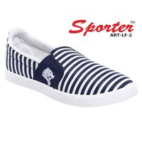 Sporter Men/Boys Canvas Blue-FL-2 Loafers & Moccasins