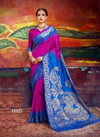 Sethnic silk 41001 to 41012 cotton silk saree catalog launched
