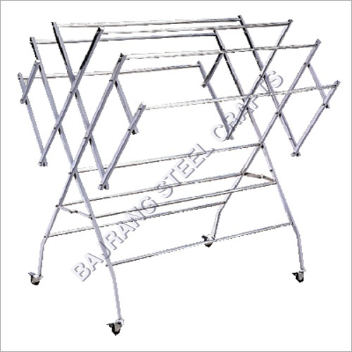 SS Foldable Cloth Drying Stand