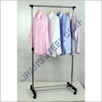 Single Pole Garment Stand