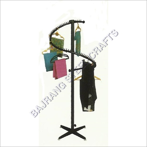 Spiral Garment Display Stand