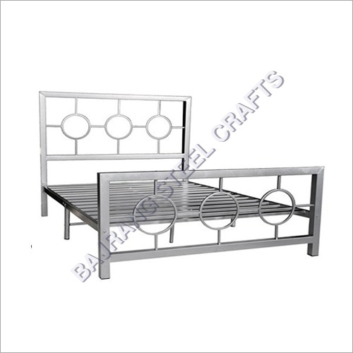 Solid SS Double Bed