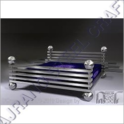 SS Decorative Bed